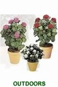 Artificial Outdoor Flowers & Accent Plants