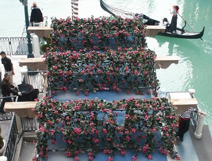 Novel ideas with artificial plants in your business or for Outdoor pots las vegas