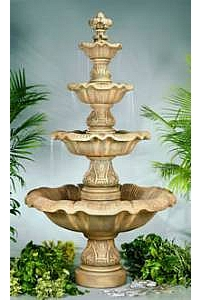 4-Tiered Renaissance Water Fountain