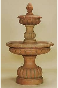 Ambra 2-Tier Water Fountain for Outdoors