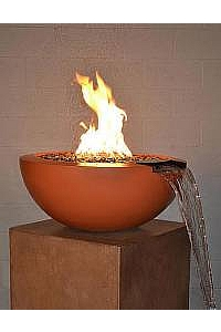 Legacy Round Fire & Water Bowls