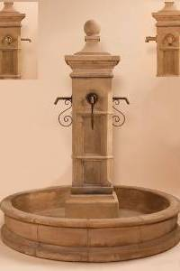 Aquitaine Pond Fountain 66'' Pond for Spouts