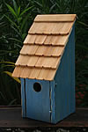 Bluebird Bunkhouse Bird House - Blue