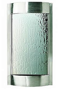 Contempo Indoor Wall Water Feature, Stainless Steel Frame