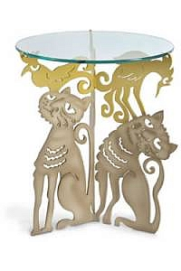 Cat Threesome Table by Drumm