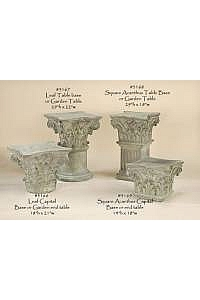 Classical Garden Table and Pedestal