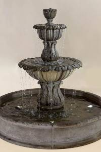 Florica Brevis Pond Water Fountain