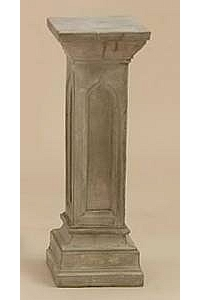 Gothic Arch Plinth Base