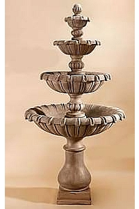 Grand Chateau Four-Tier Water Fountain