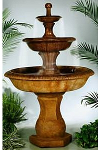 Grande Barrington Designer Garden Water Fountain