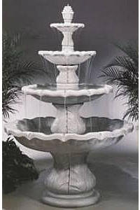 Four-Tier Classical Finial Outdoor Water