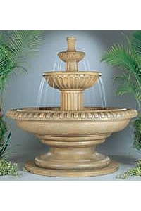 Palazzo Fluted Water Fountain