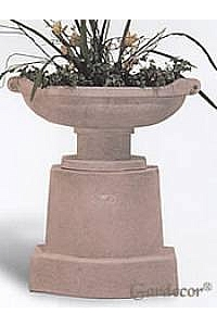 Prairie Urn with Pedestal