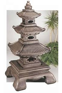Giant Tiered Great Pagoda Lantern - 59''