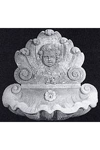 Cherub Wall Water Fountain with Bowl - Pieces Sold Separately