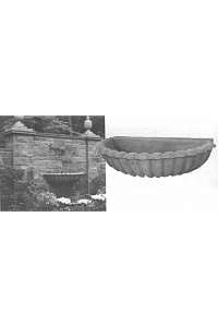Estate Wall Bowl Water Spill, 60''