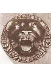 Happy Lion Wall Outdoor Water Plaque