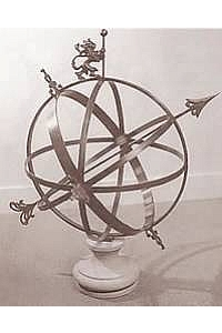 English Armillary - Pure Bronze
