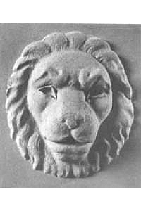 Lion Head Wall Water Fountain Mask, Cast stone