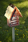 Lady Bug Loft Bug House - Red