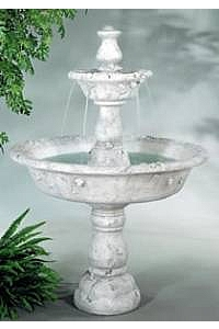 Large Tazza Tier Outdoor Water Fountain