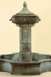 Marseilles Pond Outdoor Concrete Water Fountain