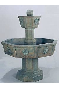 Neogotico Garden Water Fountain