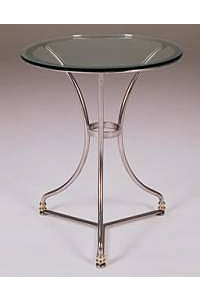 French Round Cafe Table Base