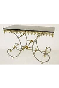 French Pastry Console Table