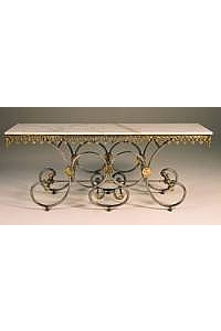French Pastry Serving Table