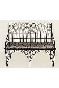 Gothic Wire Settee