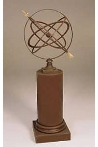 24'' Garden Armillary with Pedestal Column