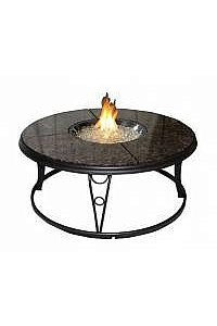 "48"" Granite Fire Pit Table"