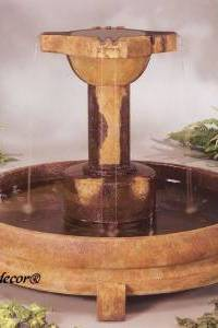 Overflowing Cross Water Fountain