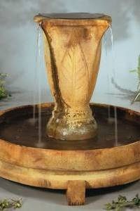 Overflowing Vase Water Fountain