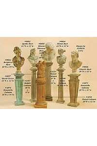 Pedestals for Outdoor Decor
