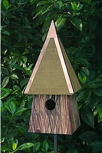 Potter's Place Bird House - Bronze