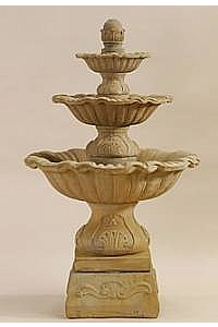 Regina 3-Tier Water Fountain with Base