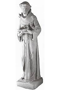 Saint Francis Outdoor Concrete Statue