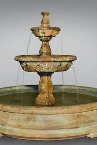 Tazza Tier Fountain in Grando Pool