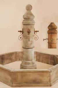 Spillover Ventoux Column for Rustic Spouts