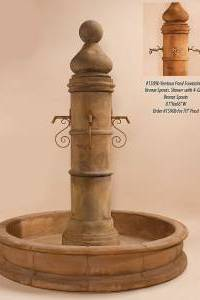 "Ventoux Pond Fountain 70"" Pond for Spouts"