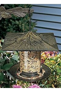 "6"" Pinecone Tube Bird Feeder"