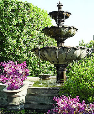 Acquarossa 3-Tier Outdoor Water Fountain