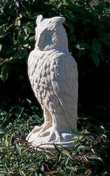 Eagle Owl Garden Statuary