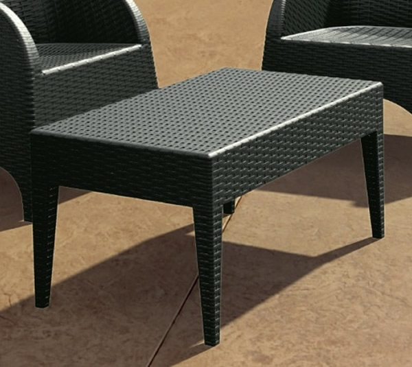 Miami Rectangle Resin Coffee Table Outdoor Tables