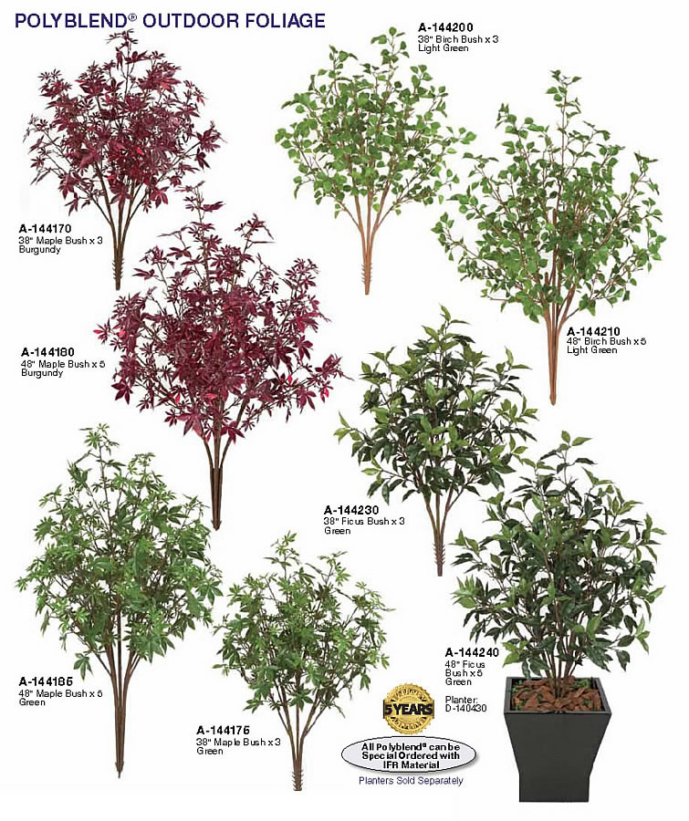 Small Backyard Trees artificial small outdoor trees