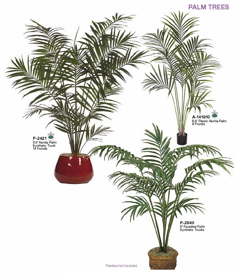 Tall Airy Palm Plants For Home Decor Artificial Indoor Palm Trees Plants