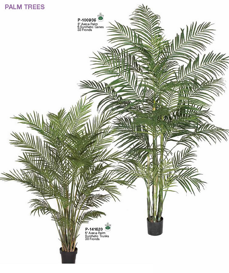 Tall Indoor Areca Palm Trees Artificial Indoor Palm Trees