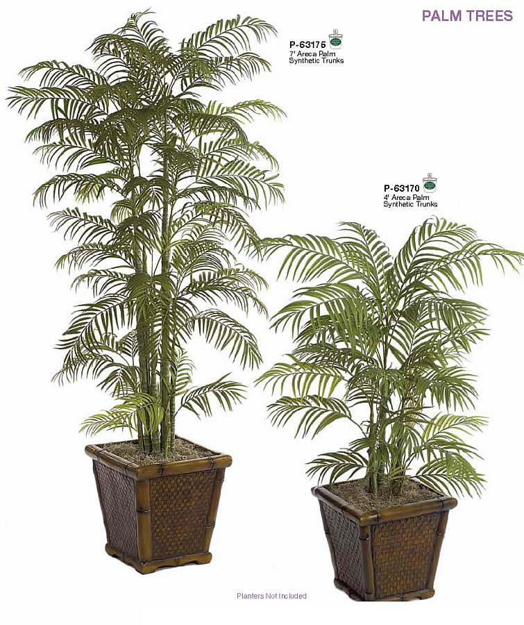 Indoor Tall Areca Palm Trees Artificial Indoor Palm Trees